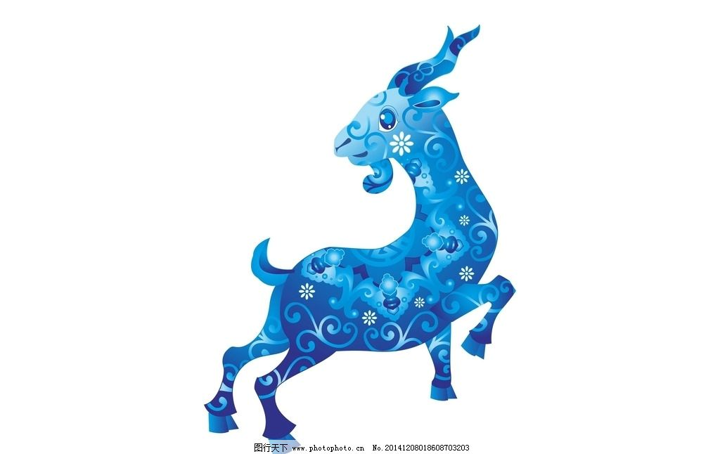 卡通羊 羊年 生肖 卡通 漫画 过年 春节动漫动画 设计 设计 动漫动画