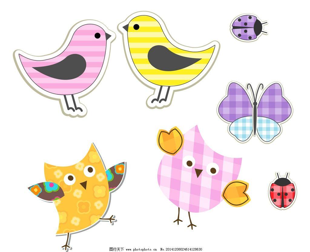 瓢虫卡通手绘图片