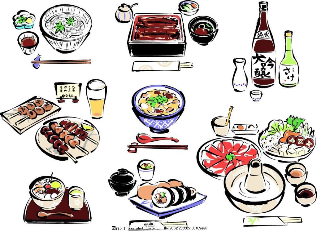 矢量美食免费下载 美食 手绘 寿司 手绘 矢量 美食 寿司 矢量图 日常