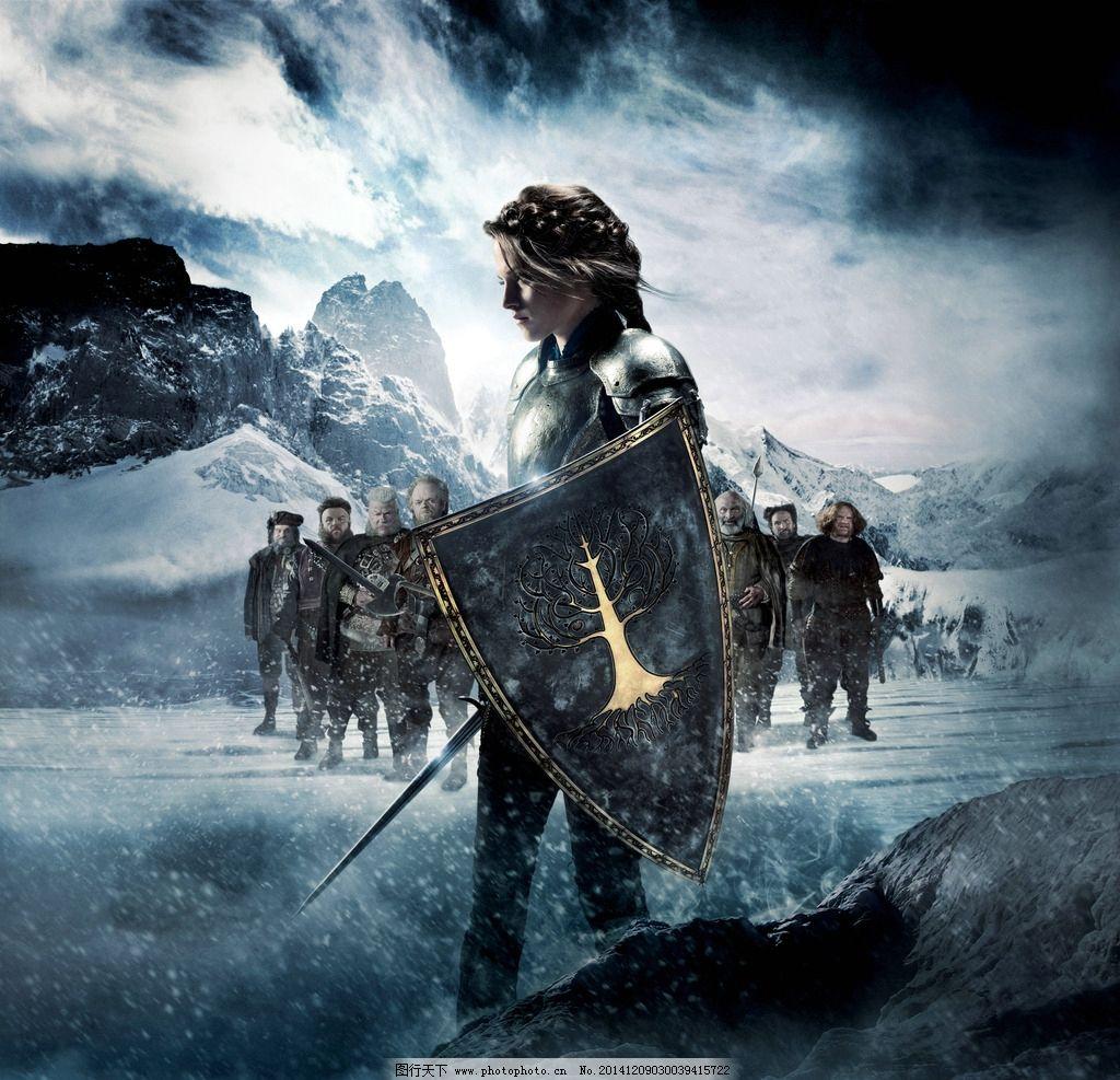 白雪公主 猎人 电影 电影海报 海报 海报设计 电影海报辑 设计 广告