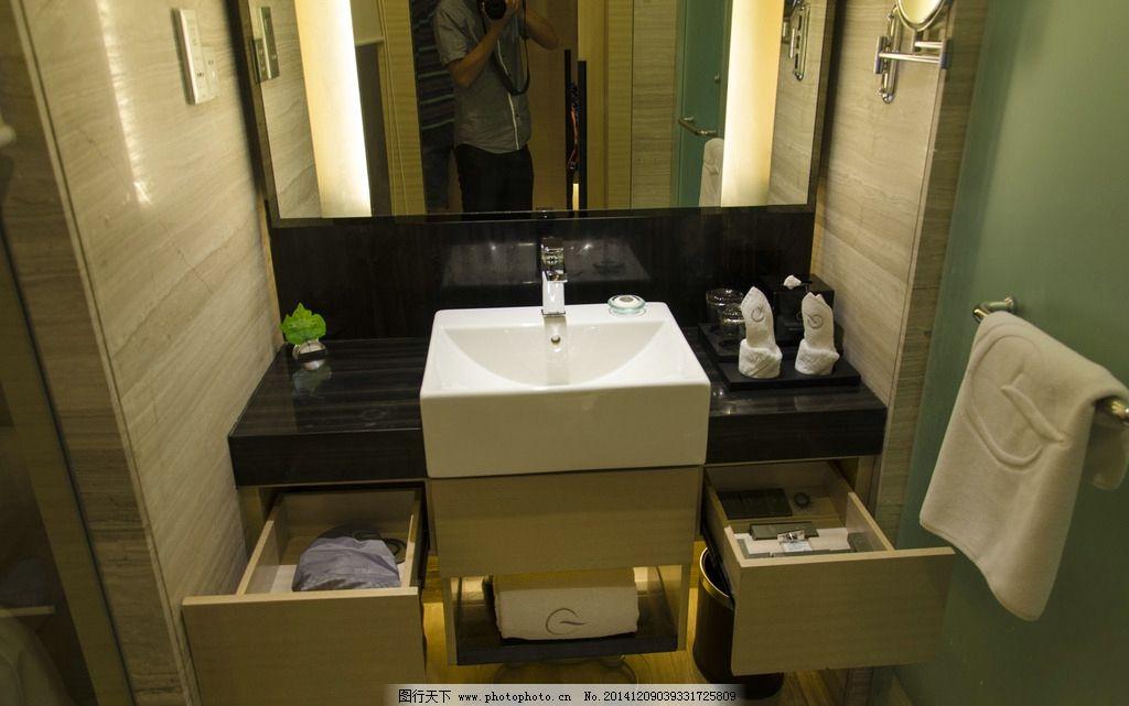 洗手台        水龙头 酒店客房 毛巾 杯子 酒店 摄影 建筑园林 室内