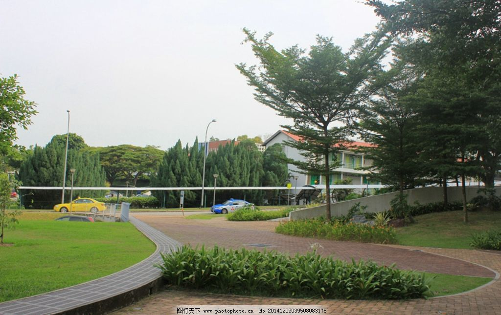 校园风景图片