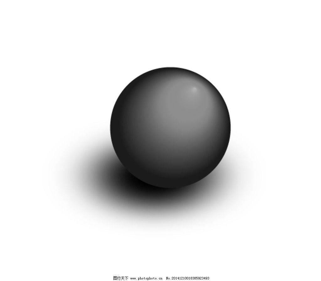 渐变圆球图片