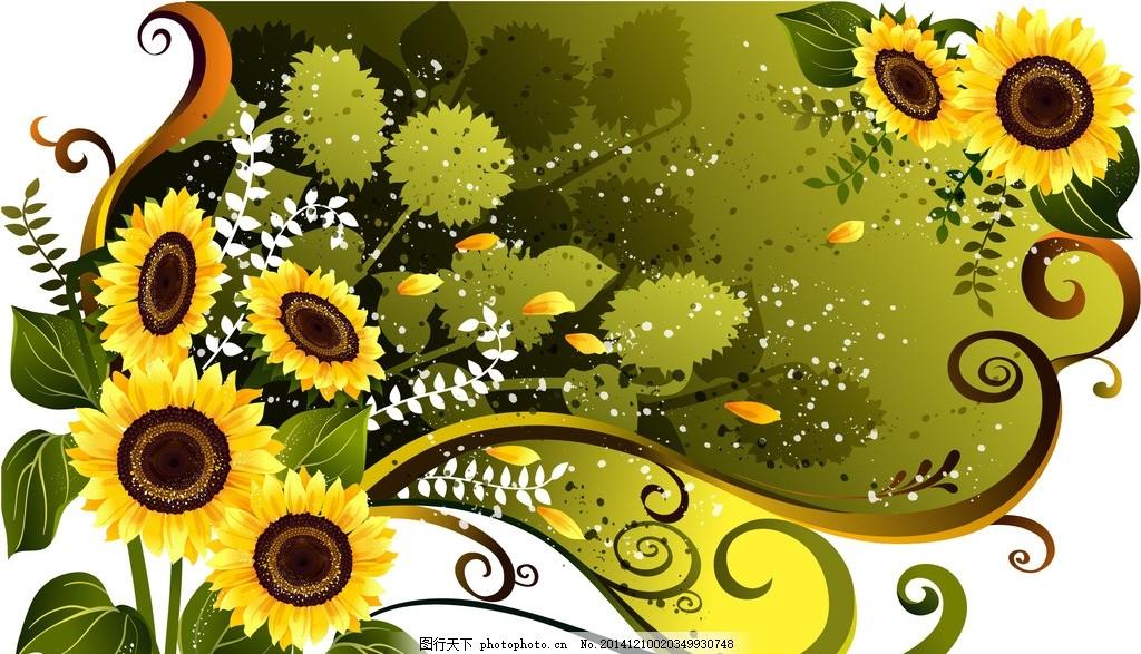 唯美图画手绘图片鲜花
