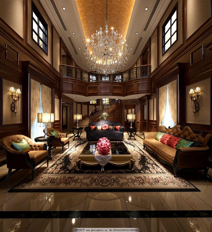 豪华中式客厅图片