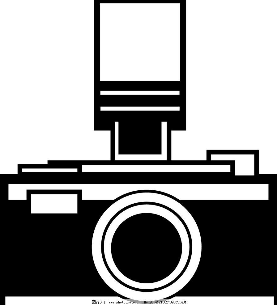 ai 相机 黑白 复古 精致 设计 现代科技 数码产品 ai