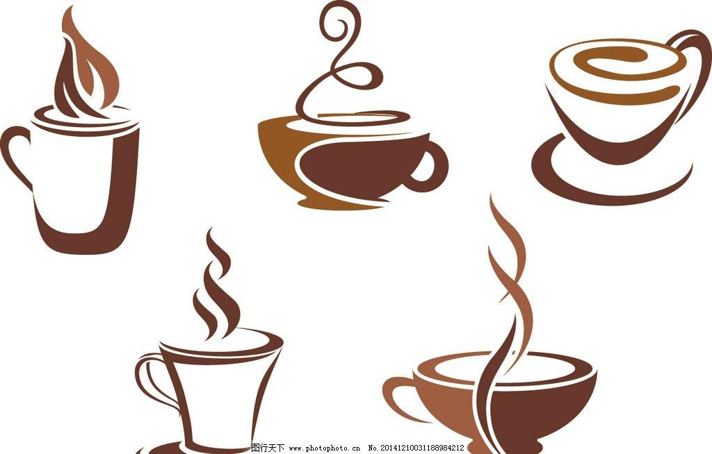 咖啡 咖啡杯 咖啡设计 咖啡标签 咖啡图标 手绘咖啡 coffee 餐饮美食图片