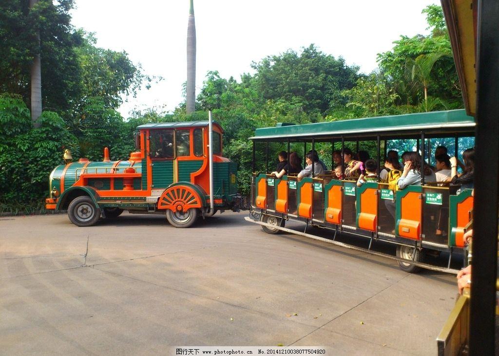长隆动物园 游览车 缆车 游客 车 长隆 旅游 摄影 现代科技 交通工具