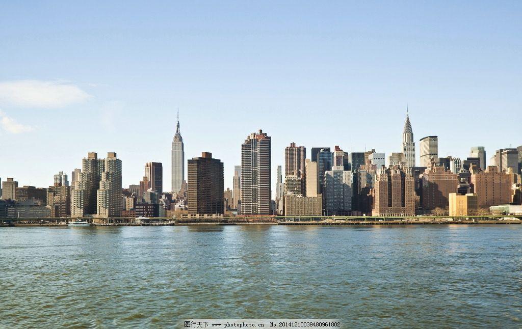 海岸城市建筑群图片