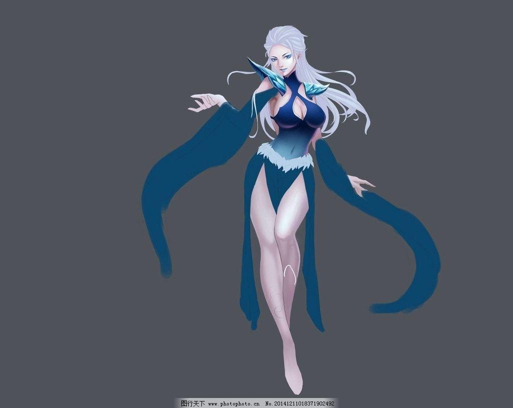 风女 英雄联盟 lol 人物 皮肤 角色 游戏 竞技游戏 动漫 美艳 美女