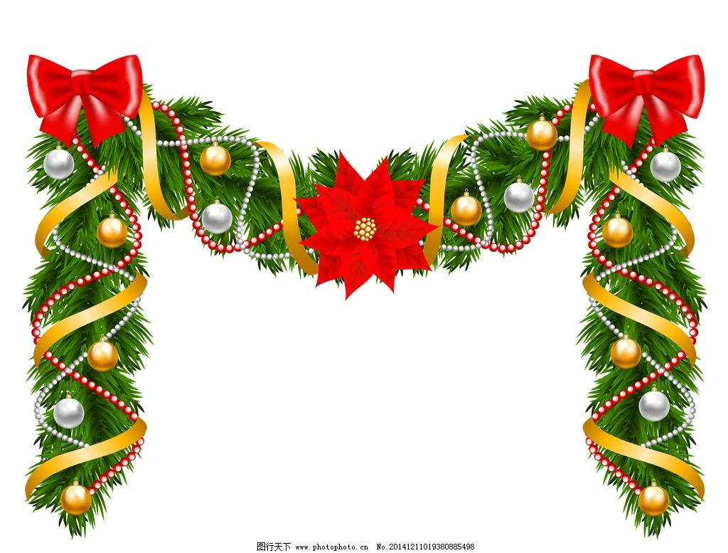 圣诞装饰素材图片_影视娱乐