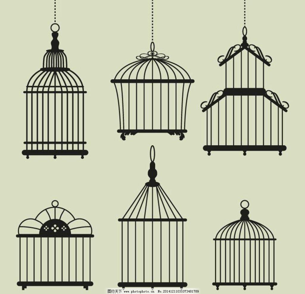 幼儿园吊饰手工鸟笼