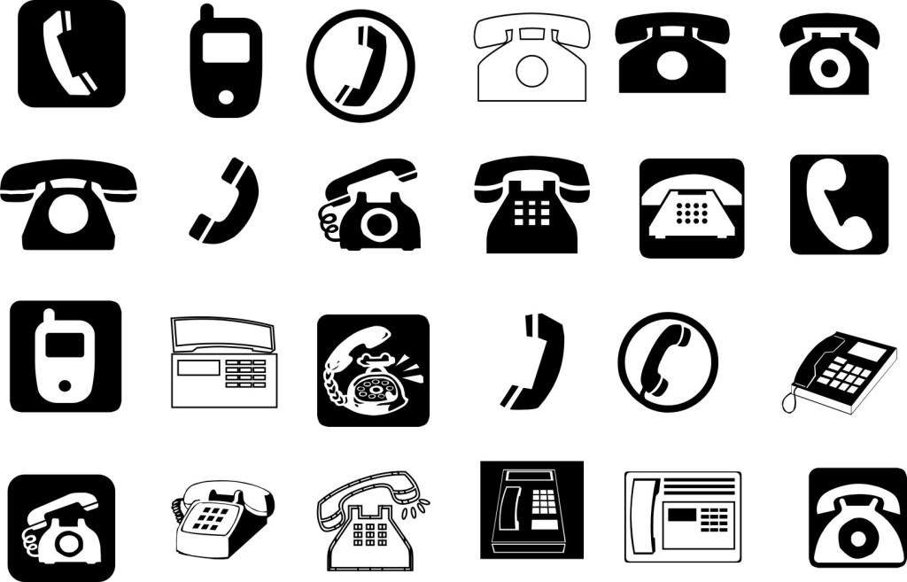 电话矢量图