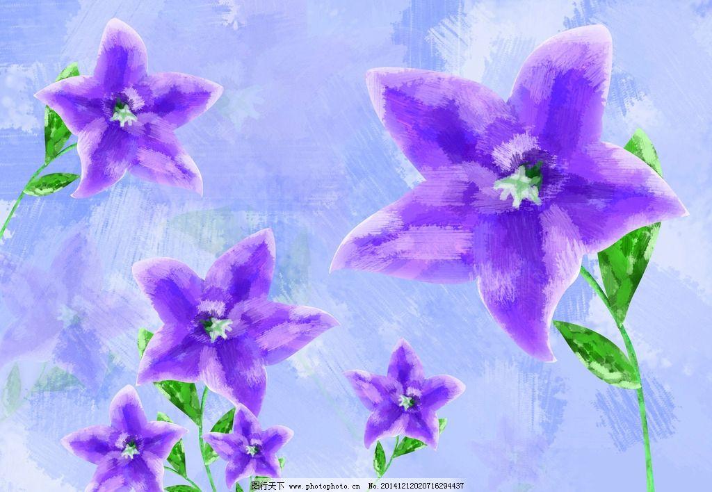 花朵 手绘花