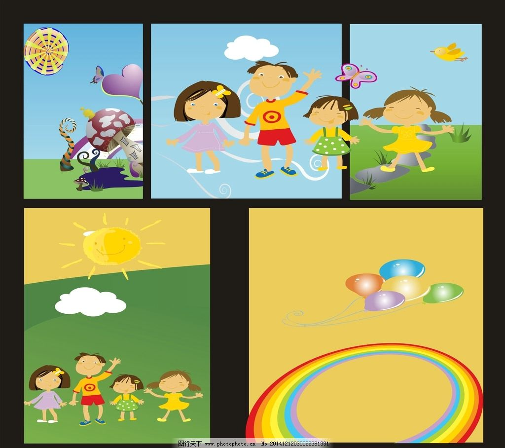 幼儿园画板图片_海报设计_广告设计_图行天下图库