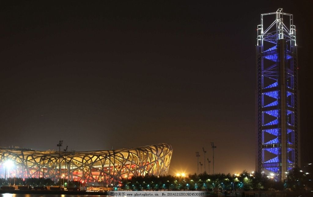 秦皇岛夜景图片
