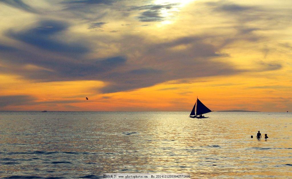 唯美夕阳 落日 日落 黄昏 傍晚 秦皇岛 自然 风景 风光 大海
