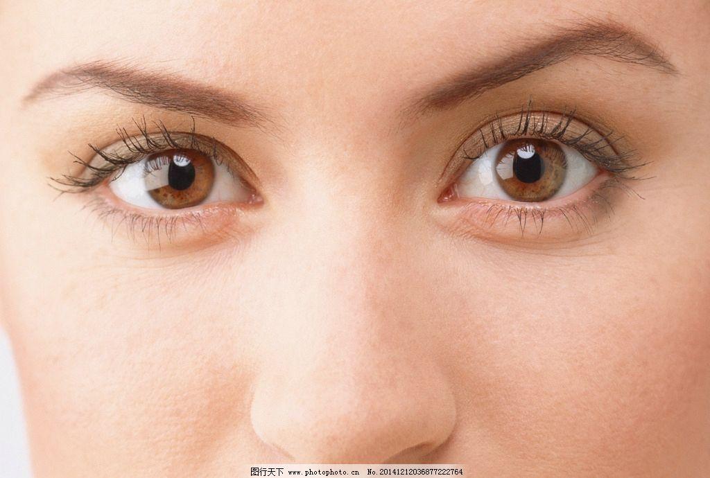 模特 眼睛 鼻子 眉毛 五官 美女 睫毛 眼眶 32眼睛和嘴唇 摄影 人物