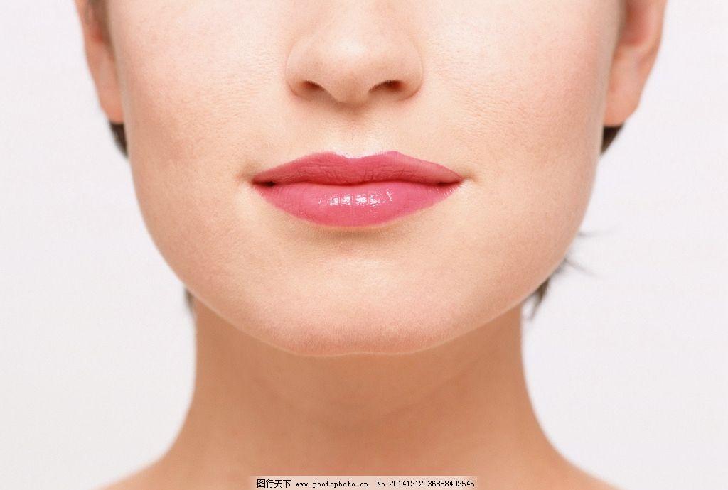 五官 模特 脸颊 嘴巴 美女 性感 摄影 人物图库 女性女人