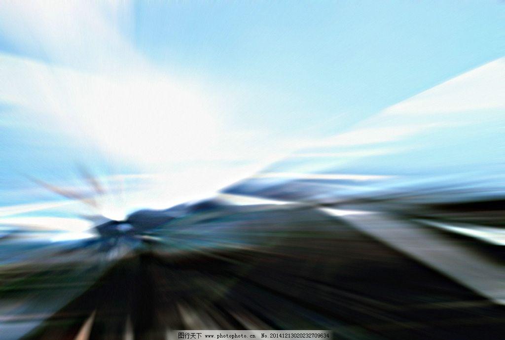 动感幻彩线条背景图片