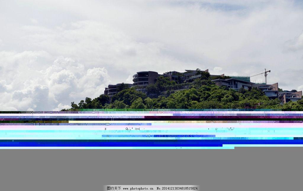 小岛别墅图片