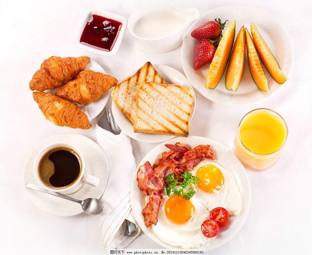西式爱心早餐