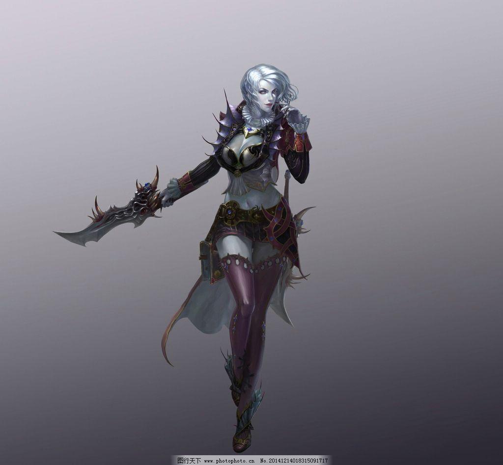 游戏 游戏原画 原画 游戏人物 武侠 武将 玄幻 美女  设计 动漫动画