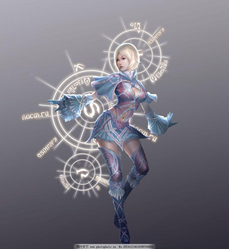 游戏 游戏原画 原画 游戏人物 武侠 武将 玄幻 美女 勇士 设计 动漫动