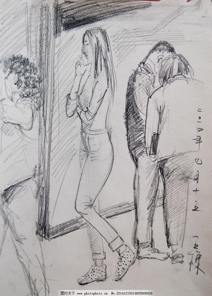 素描图片_绘画书法_文化艺术