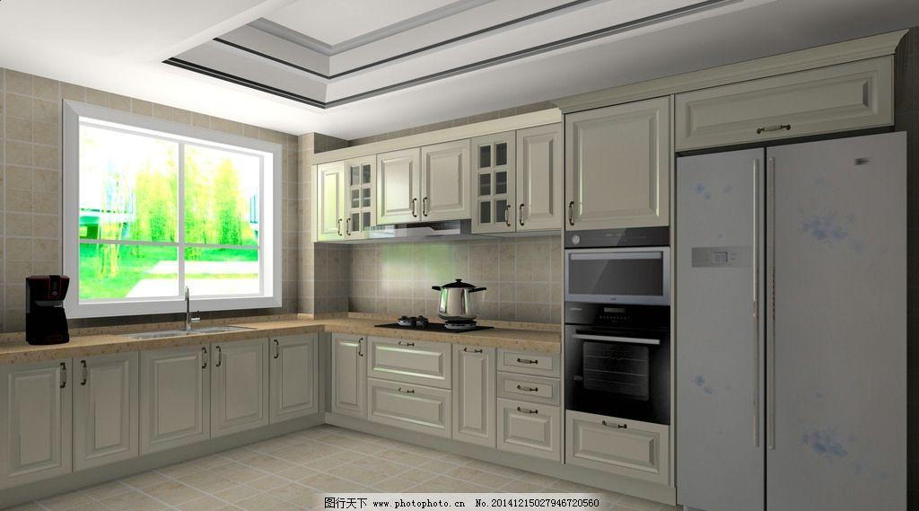烤漆橱柜 白色橱柜 欧式橱柜 简欧橱柜 简欧厨房 设计 环境设计 室内