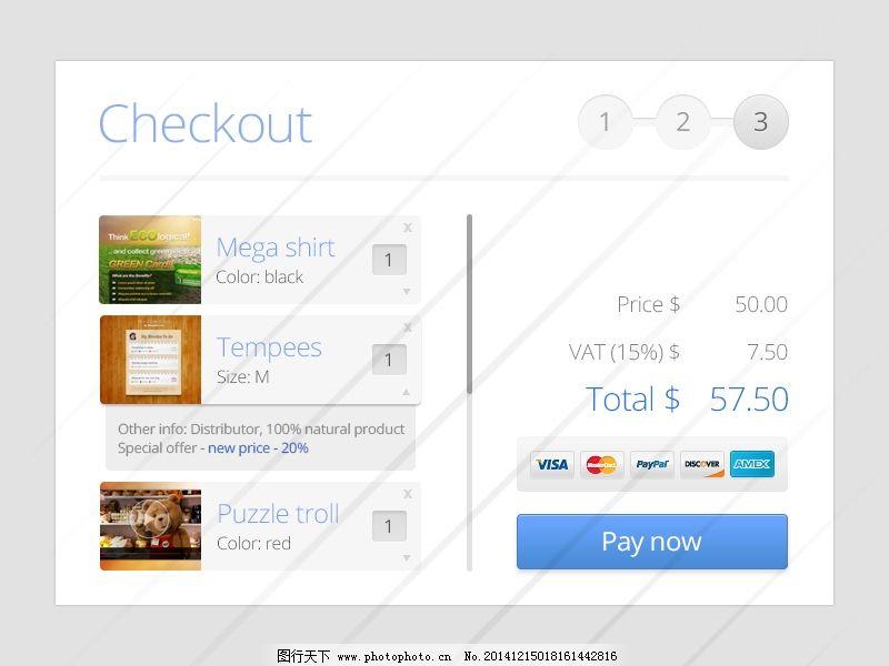 ui 白色背景 大气 订单 支付界面 ui 白色背景 大气 ui设计 app界面