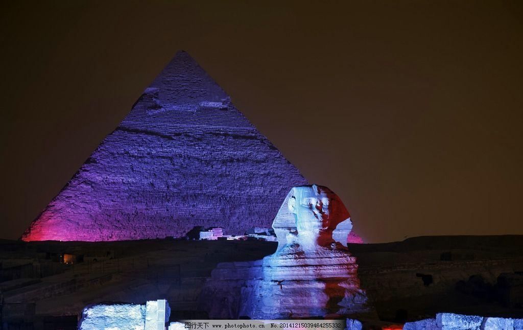 金字塔 埃及金字塔 沙漠 狮身人面像 古迹 人类文明 古埃及 摄影
