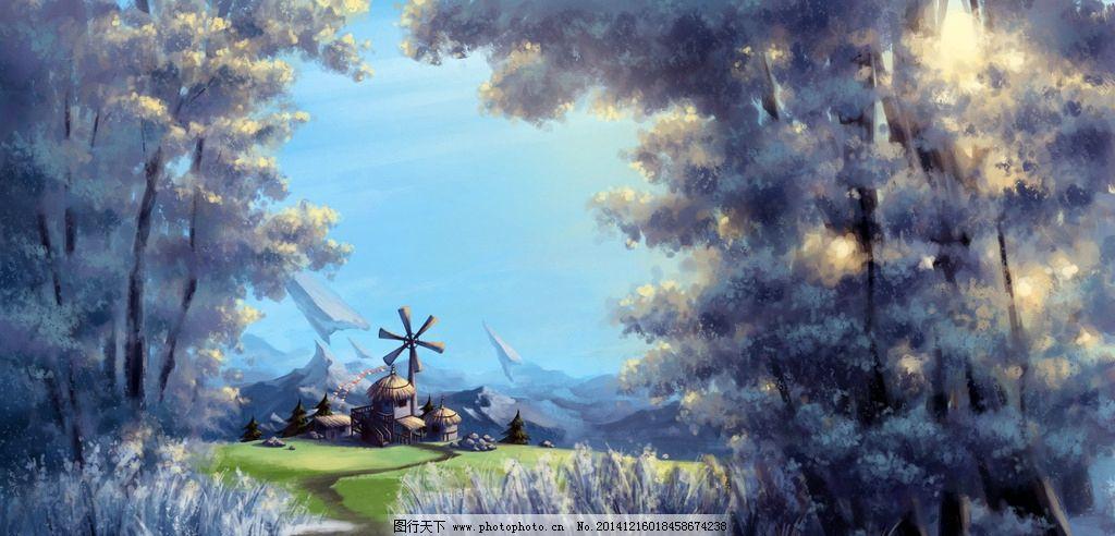 游戏原画 游戏 原画 网游 页游 动漫 卡通 漫画 手绘 动漫场景 动画