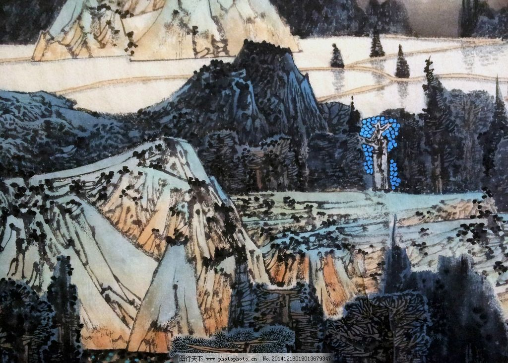 国画 山水 风景 写意山水 字画 装饰画 写意风景 文化艺术 绘画书法