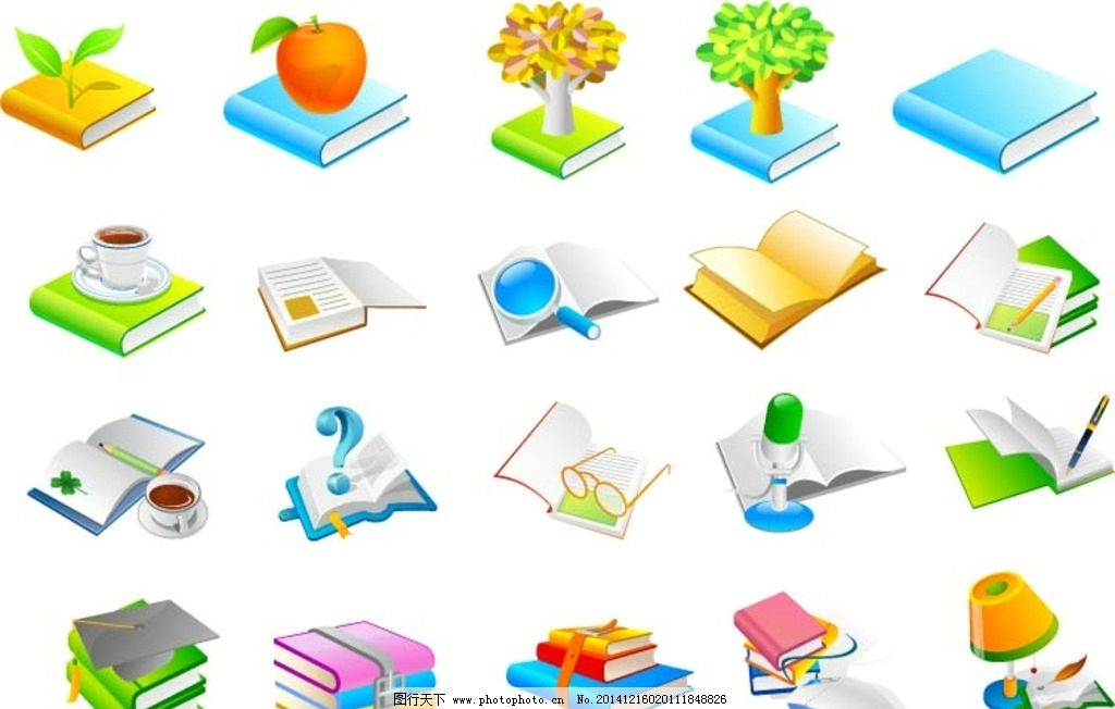书籍图标 标签 文件图标 小图标 标志图标 其他图标图片