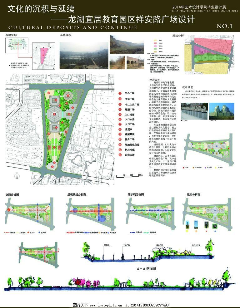 景观设计展板图片