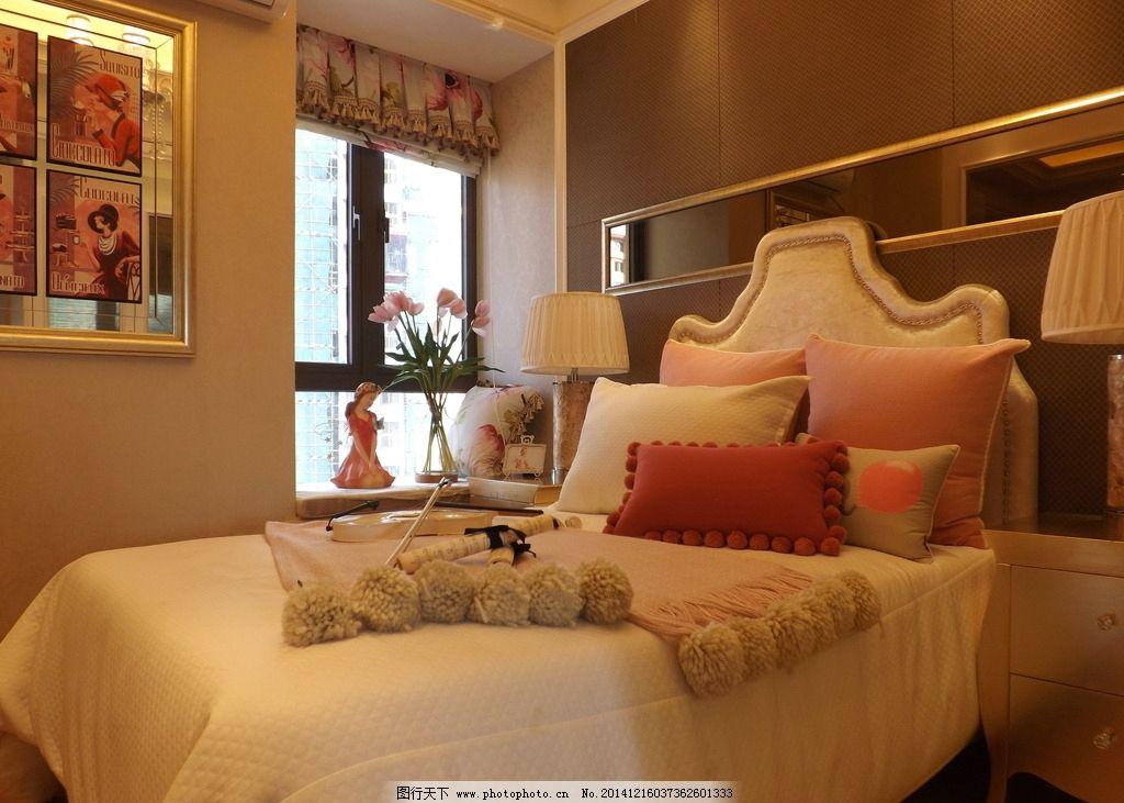欧式卧室 别墅图片