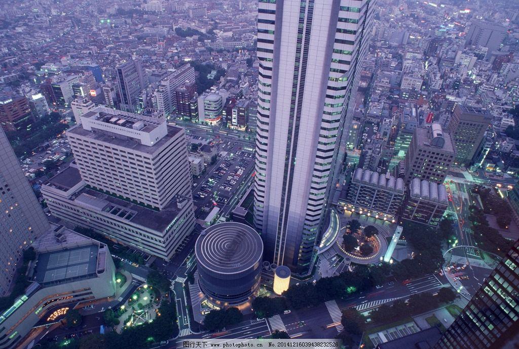 城市建筑群图片