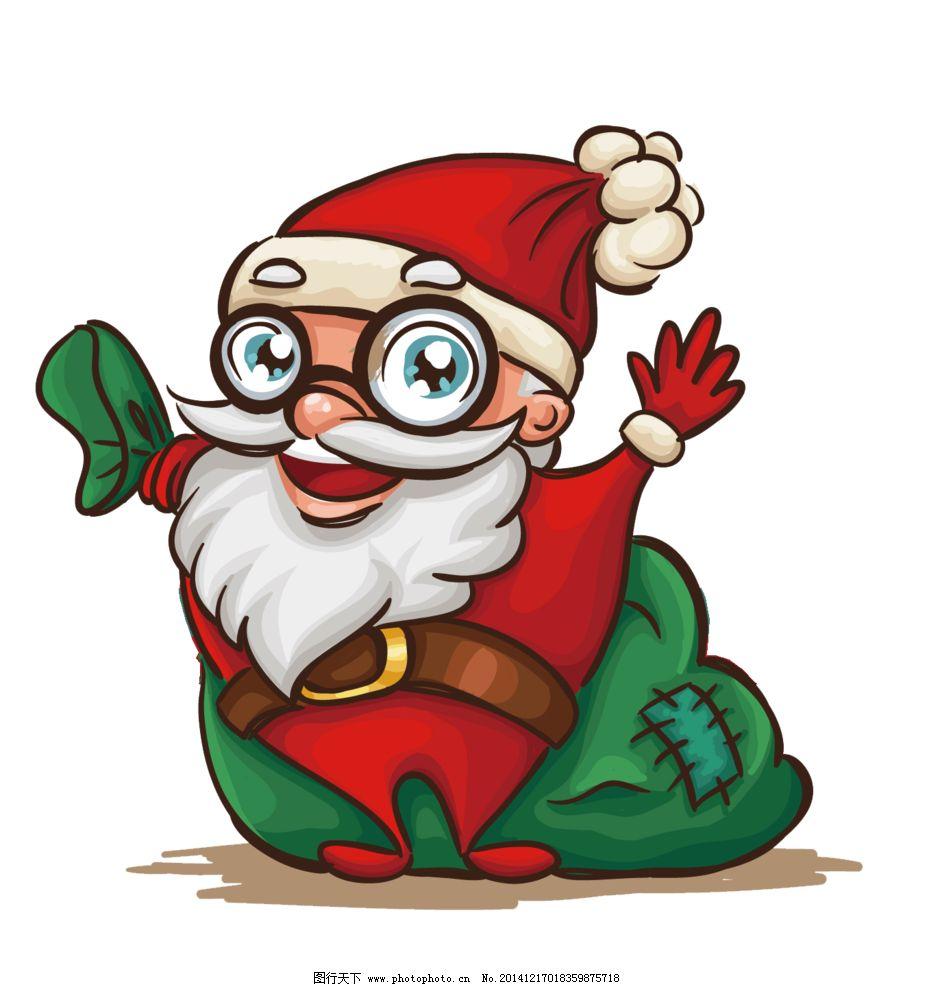 圣诞 圣诞老人 素材 png 圣诞节 设计 动漫动画 动漫人物 78dpi png