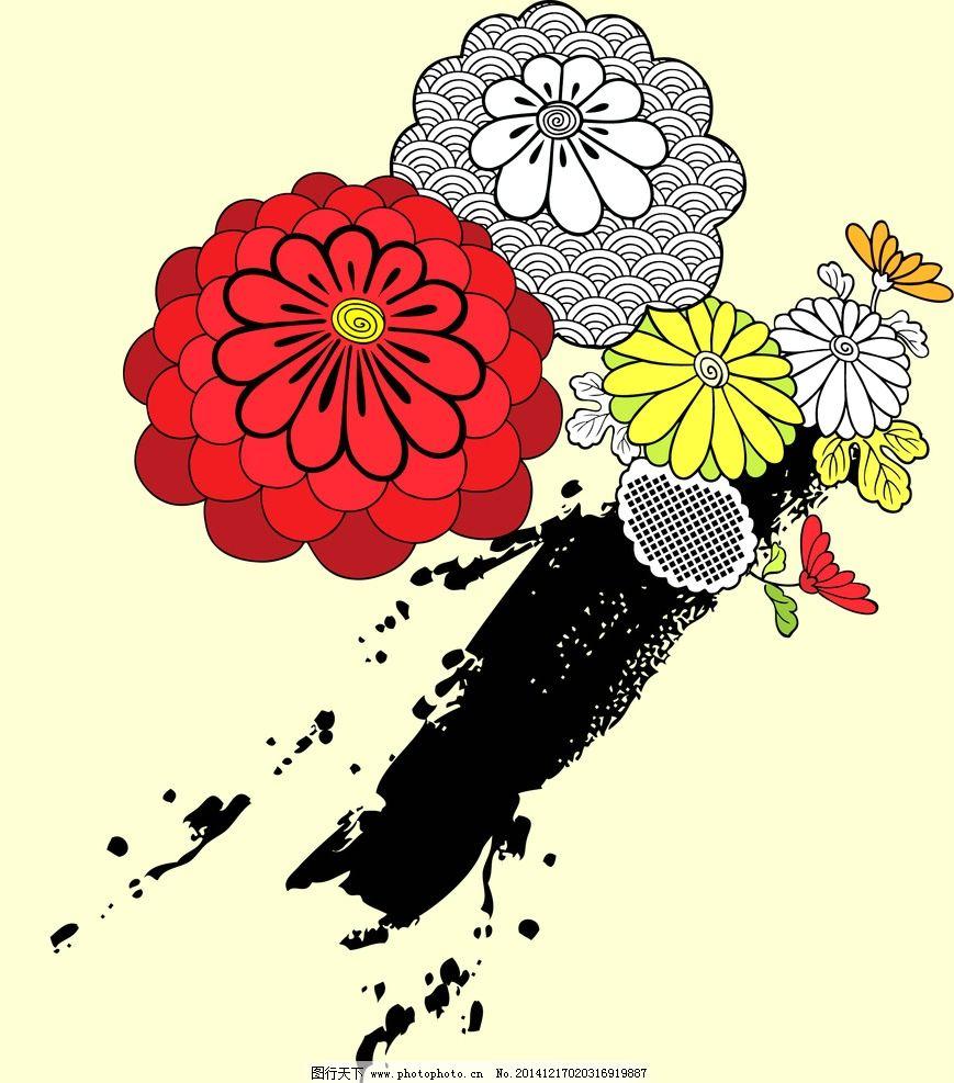 欧式花纹 法式花纹 花朵花纹 花纹花朵 花 花纹 纹理背景 设计 底纹图片