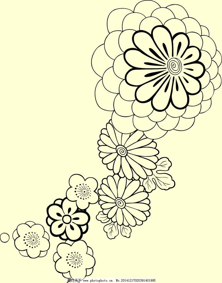 花朵 花纹 花 欧式花纹 法式花纹 背景 纹理背景 底纹边框 花边花纹图片