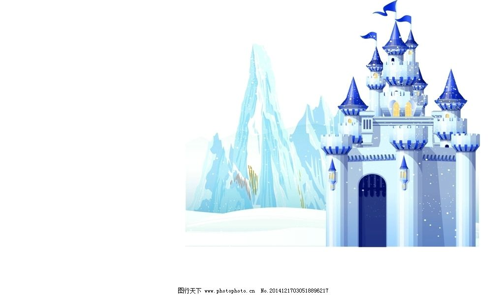 冰雪 城堡 冰雪奇緣 背景 婚禮主題 設計 動漫動畫 其他 72dpi jpg