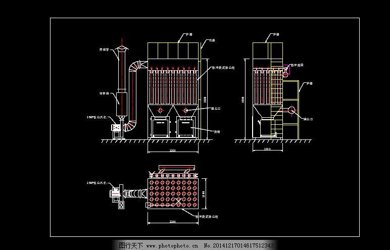 脉冲除尘器免费下载 电子除尘器 电路板吸尘器 高压吸尘器 原创设计