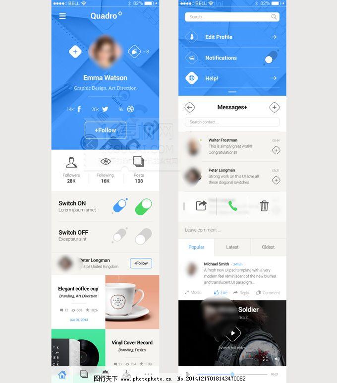 簡潔 模板 清新 炫彩 清新 模板 簡潔 炫彩 ui設計 app界面設計