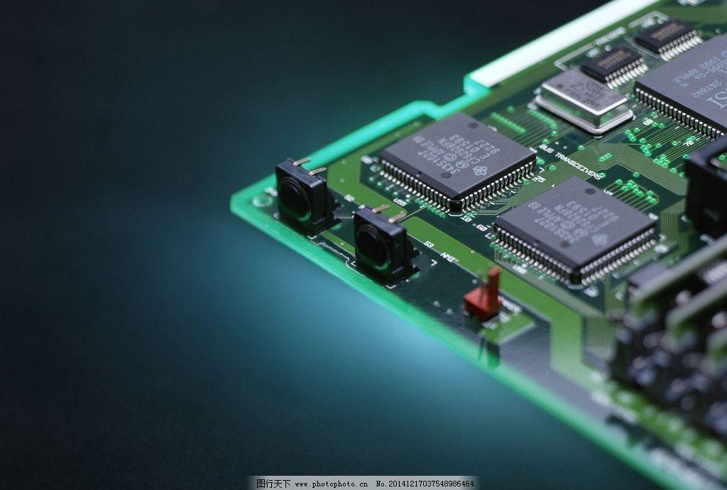 电脑配件 主板 电容 电阻 插槽 科技 电路板 33电脑科技 摄影 生活