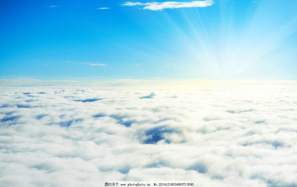 云层 云彩 蓝天 白云 云朵