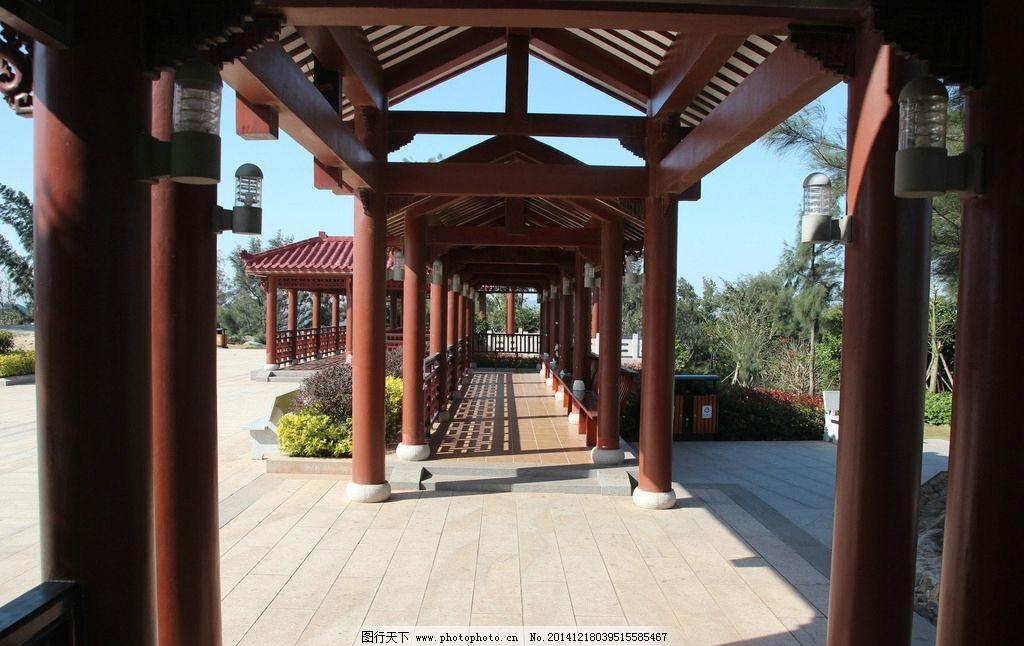 凉亭 走廊 房屋 古建筑 中国风 园林 公园 摄影 建筑园林 园林建筑 72