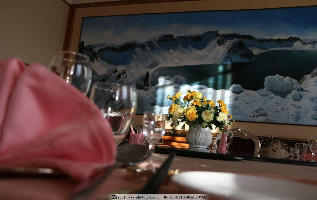 中餐婚宴摆台设计图片图片