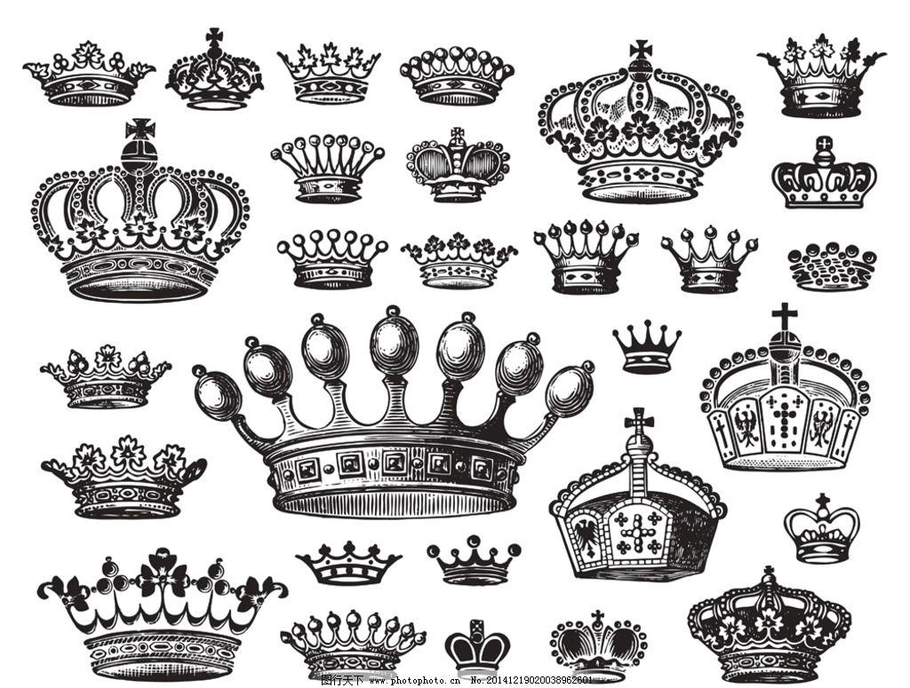 欧式皇冠图片