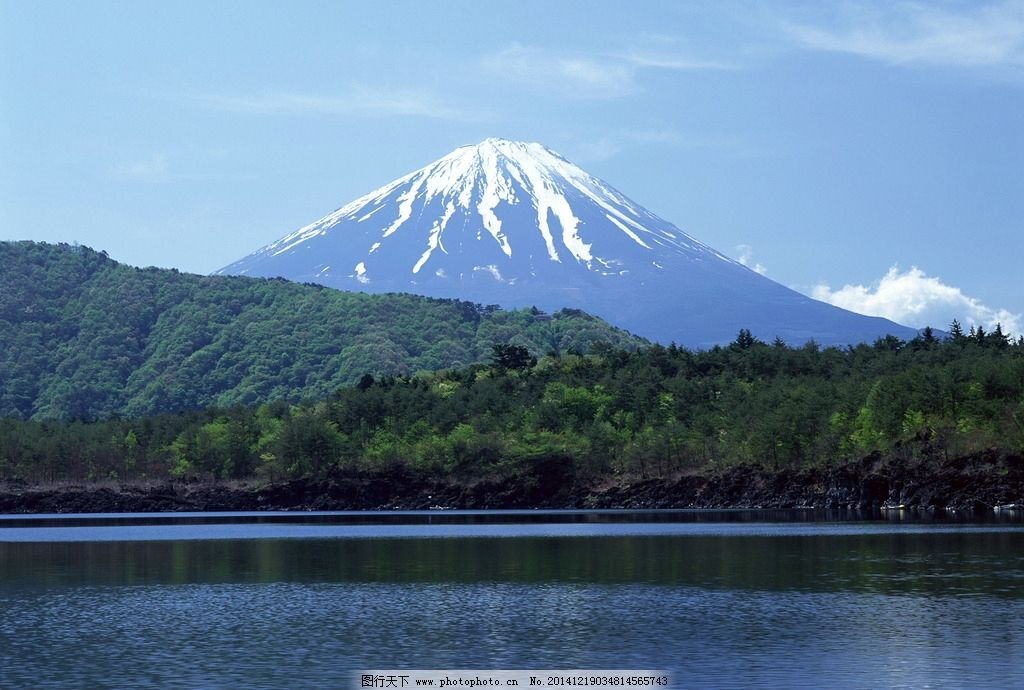 高い富士山に登る迅雷